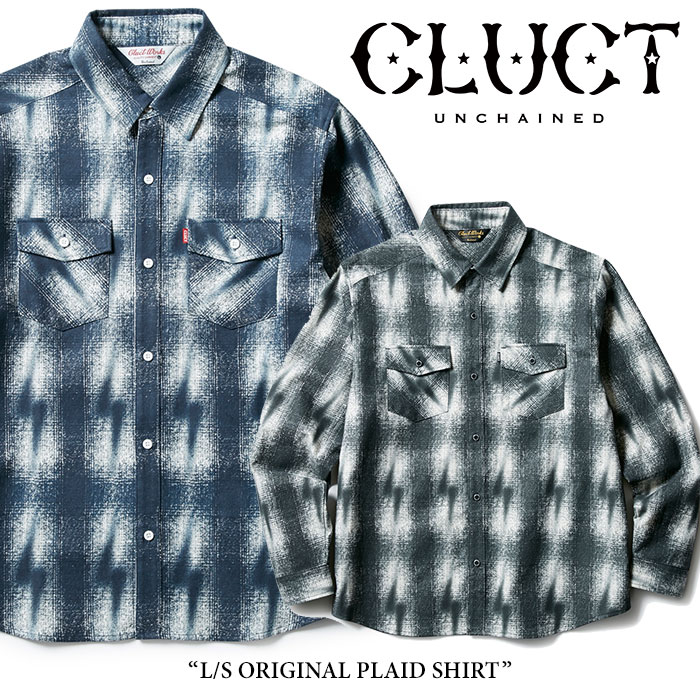 【SALE40%OFF】 CLUCT(クラクト) L/S ORIGINAL PLAID SHIRT 【2017AUTUMN新作】 【送料無料】【即発送可能】 【CLUCT シャツ】