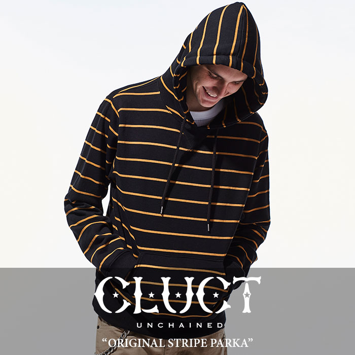 CLUCT(クラクト) ORIGINAL STRIPE PARKA 【2018SPRING新作】 【送料無料】【即発送可能】 【CLUCT パーカー】 【#02657】