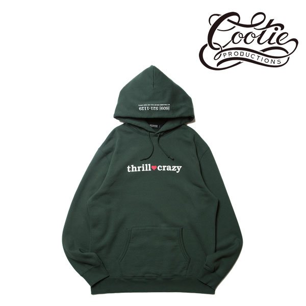 COOTIE Print Pullover Parka (THRILL CRAZY) GREEN