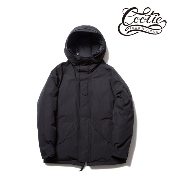 COOTIE(クーティー) T/C Weather Cloth Down Jacket(BLACK)