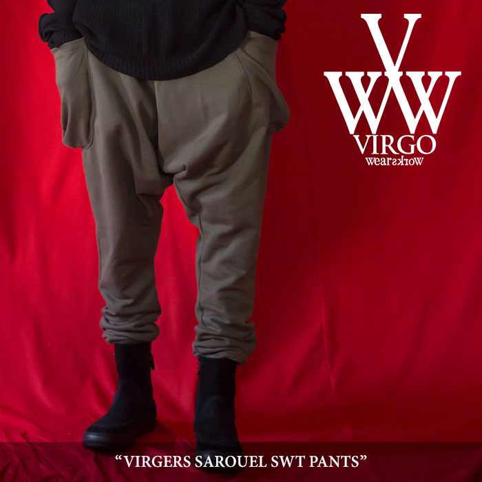 VIRGO(ヴァルゴ) VIRGERS SAROUEL SWT PANTS 【2018SPRING/SUMMER 1st collection新作】 【送料無料】【即発送可能】 【VG-PT-28