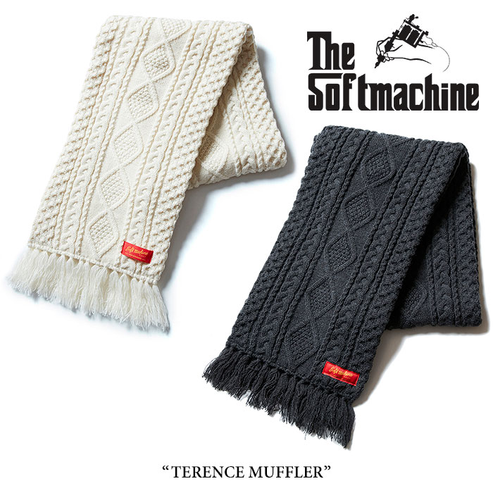 【SALE40%OFF】 SOFTMACHINE(ソフトマシーン) TERENCE MUFFLER(KNIT MUFFLER) 【2017AUTUMN/WINTER新作】 【即発送可能】 【SOF