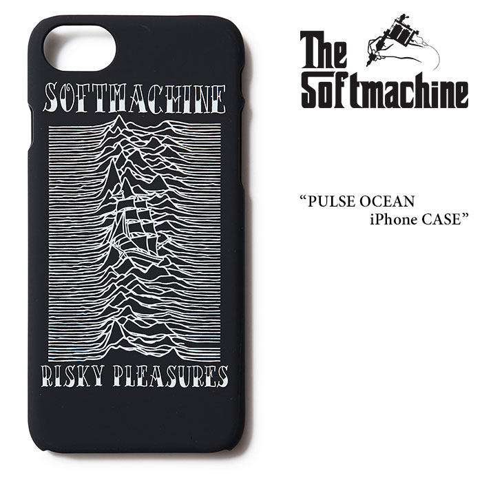 SOFTMACHINE(ソフトマシーン) PULSE OCEAN iPhone CASE(i Phone 7 CASE) 【2017AUTUMN/WINTER新作】【即発送可能】 【SOFTMACHINE