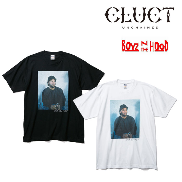 CLUCT(クラクト) S/S TEE #A-CLUCT×BOYZ N THE HOOD- 【2018 SPOT新作】 【即発送可能】 【CLUCT Tシャツ】 【#02770】