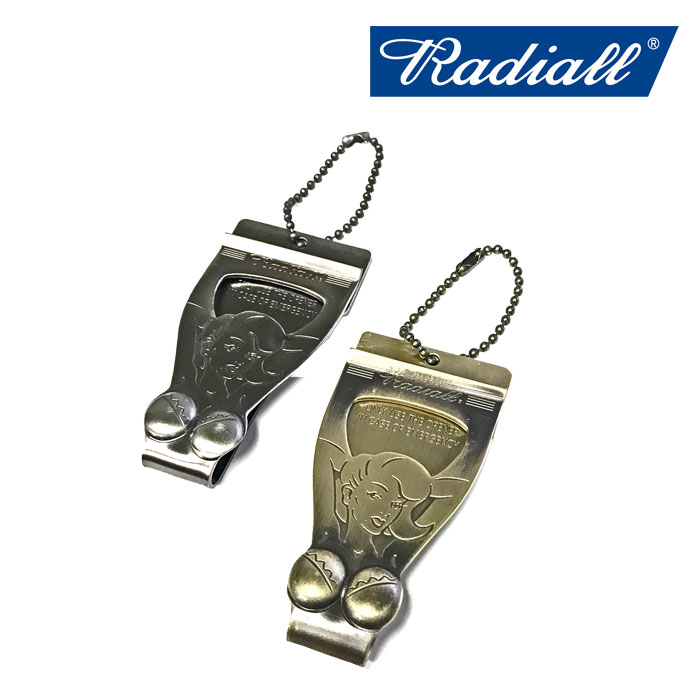 RADIALL(ラディアル) CHROME LADY-MONEY CLIP 【2018 SPRING&SUMMER SPOT】 【RADIALL マネークリップ】 【RAD-18SSS-ACC01】