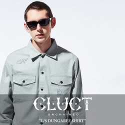 CLUCT(クラクト) L/S DUNGAREE SHIRT 【2018SPRING新作】 【送料無料】【即発送可能】 【CLUCT シャツ】 【#02667】