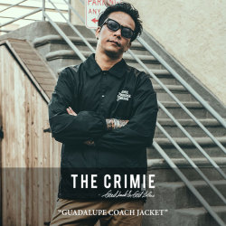 CRIMIE(クライミー) GUADALUPE COACH JACKET 【2018SPRING/SUMMER新作】 【送料無料】【即発送可能】 【C1H1-JK22】 【CRIMIE