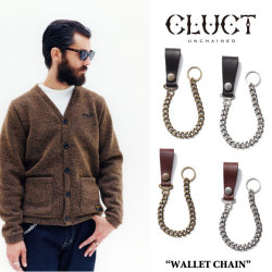 CLUCT(クラクト) WALLET CHAIN 【2018SPRING新作】 【送料無料】【即発送可能】 【CLUCTウォレットチェーン】【#01705】