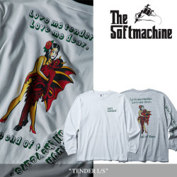 SOFTMACHINE(ソフトマシーン) TENDER L/S (L/S T-SHIRTS) 【2018SPRING/SUMMER新作】 【送料無料】【即発送可能】 【SOFTMACHINE