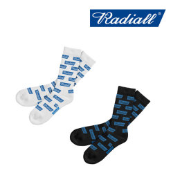 RADIALL(ラディアル) 2PAC SOX - FLAGS LONG 【2018 SPRING&SUMMER SPOT】 【RADIALL ソックス】 【RAD-PAC027】