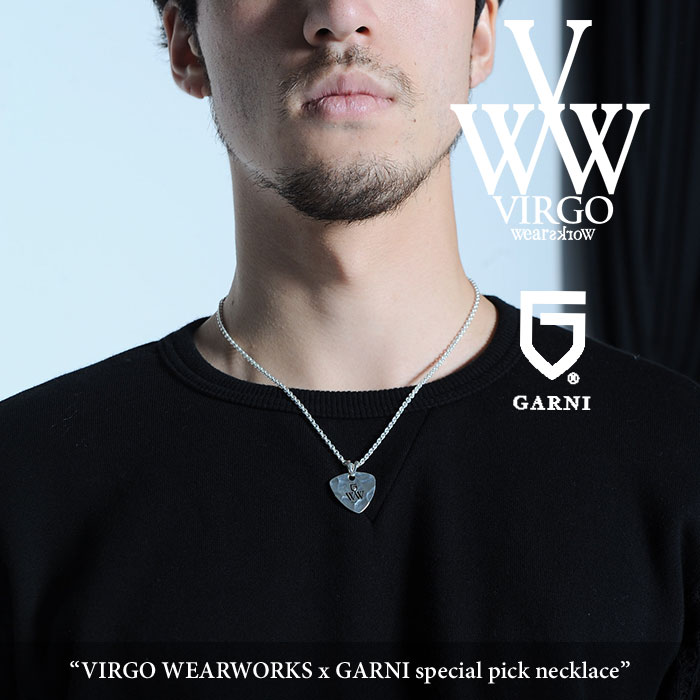 【SALE20%OFF】 VIRGO(ヴァルゴ) VIRGO WEARWORKS x GARNI special pick necklace 【2017AUTUMN/WINTER新作】 【送料無料】【即