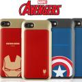 【送料無料】 iPhone7 iPhone7 PLUS マーベル アベンジャーズ スライド カード ケース アイアンマン キャプテン シビルウォー キャプテンアメリカ iPhone7ケース iPhone7PLUS アイフォン7 アイフォン iPhone 7 カバー キャラクター ブランド かわいい おしゃれ スマホケース