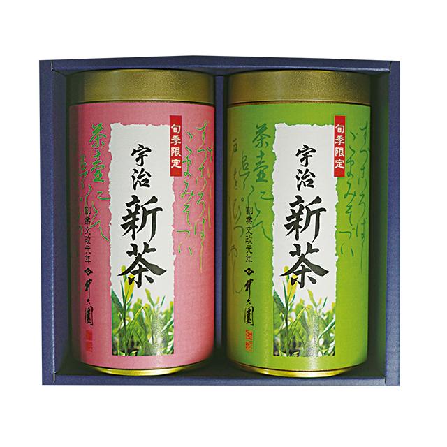 【2017年新茶】宇治煎茶 (100g×2缶入)S-30