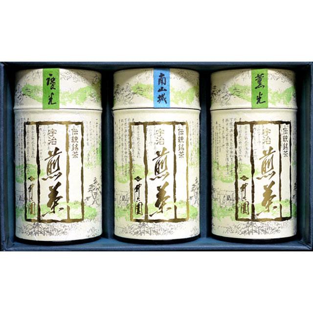 IRN-40 まろやか煎茶 (薫光/115g)@1,000煎茶 (南山城/115g)@1,000煎茶 (慶光/115g)@1,000