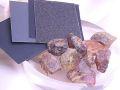 青琥珀 ブルーアンバー 原石 手みがきセット