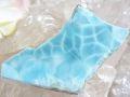 ラリマー ☆ 美しい青の原石プレート (60.5 mm× 28 mm)