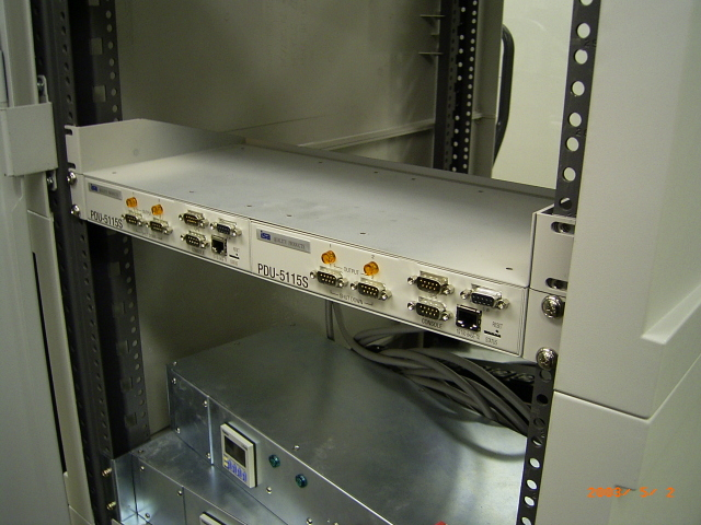 (P-3) DN-5115SRK ラックマウントキット/PDU-5115S用