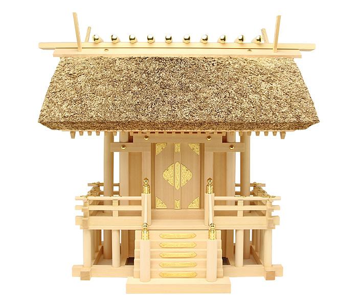 神棚 茅葺一社宮(特々大)〈K-12〉