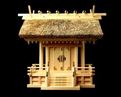 神棚 茅葺一社宮 五十鈴型〈K-10〉
