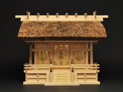 神棚 茅葺三社宮 普及型(小)〈K-17〉