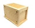 小型賽銭箱 栓材 5寸