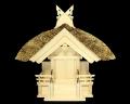神棚 茅葺一社宮 妻入り型〈K-13〉