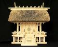 神棚 茅葺一社宮 正殿型(中)〈K-8〉