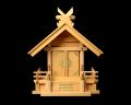 【アウトレット】神棚 板葺一社宮 妻入り型〈I-24〉 No.3