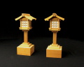 LED灯籠 欅電池式(小)