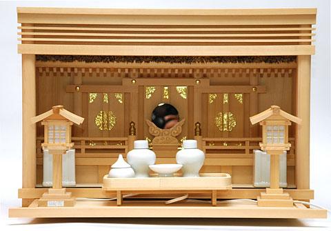 家庭用茅葺神棚