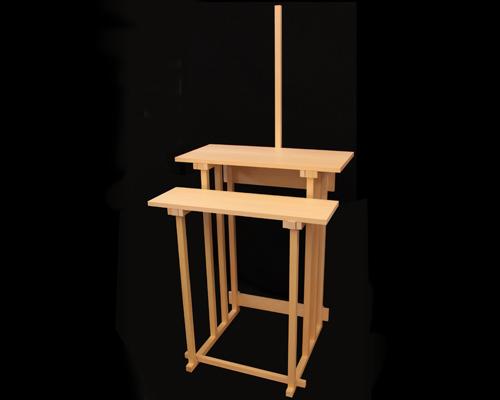 祭壇 組立式 二段式(半間用幅広型)