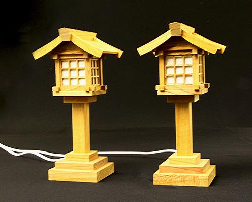 LED灯籠 欅コード式(小)