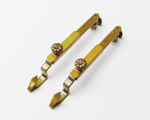 座敷御簾用吊り金具(仙徳自在長押掛金具) 日本製金具 2個一組