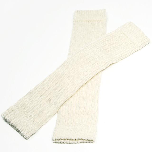 シルクの快適ひざサポーター(薄手)・2枚組 オフホワイト 神戸生絲