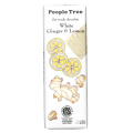 フェアトレード・チョコレート ホワイトジンジャー&レモン 50g ピープル・ツリー【在庫限り】
