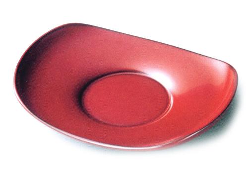 茶托 小判型  5枚セット(製造中止) 木製 漆塗り