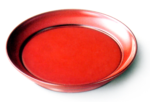 椿皿(製造中止) 木製 漆塗り 取り皿・小皿