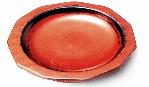 銘々皿 荒挽き (製造中止) 木製 漆塗り 取り皿・小皿