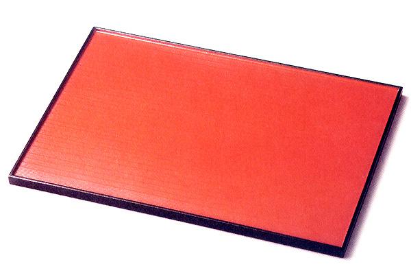 13.0 長角両面膳 5枚セット 【送料無料】 木製 ランチョンマット