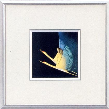 パネル 鶴(製造中止) 漆塗り アート インテリア
