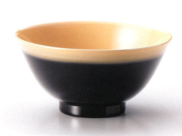 快丼 白ぼかし (製造中止) 漆塗り 大椀・麺鉢・丼鉢