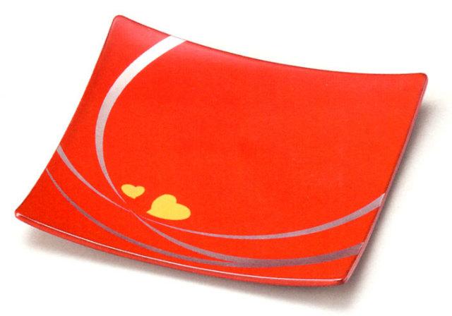アラカルトプレート 絆(製造中止) 漆塗り 中皿