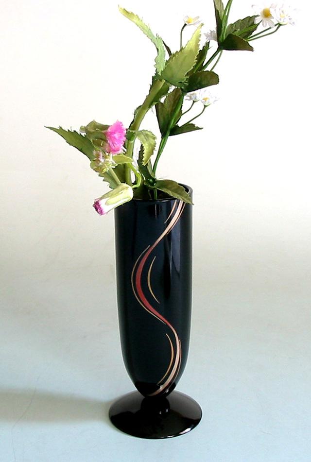 フリースタンド 彩ライン(製造中止) 漆塗り 花器 花瓶
