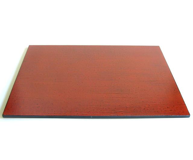 両面板膳 布着せ 根来曙 (製造中止) 木製 ランチョンマット
