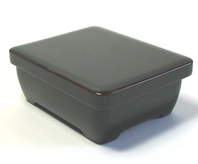 香琳弁当箱 溜内朱(製造中止) 木製 漆塗り 木のランチボックス