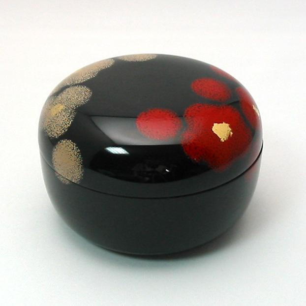 ボンボニエール 紅白華 漆塗りキャンディーボックス