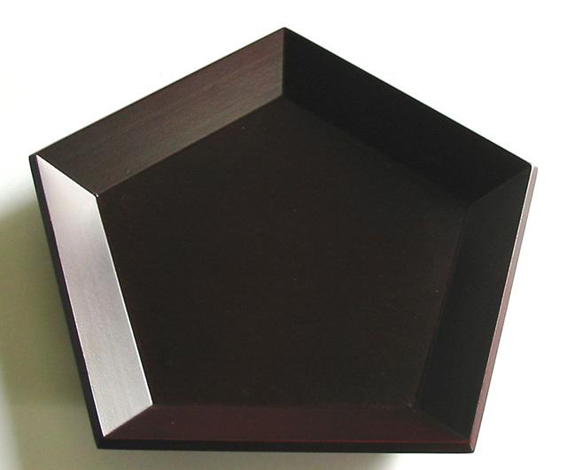 五角皿 (製造中止) 木製 中皿