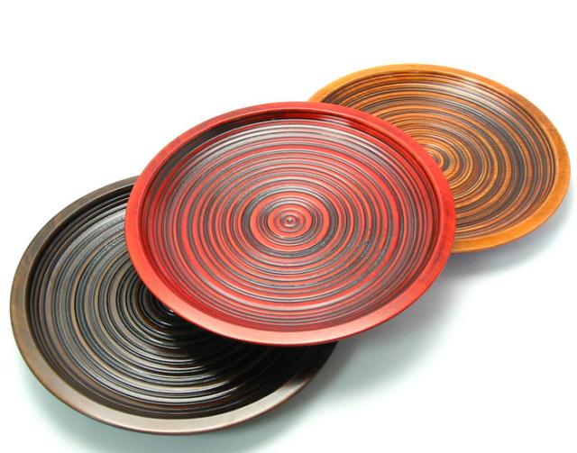木皿 特別価格 木製漆塗り 中皿
