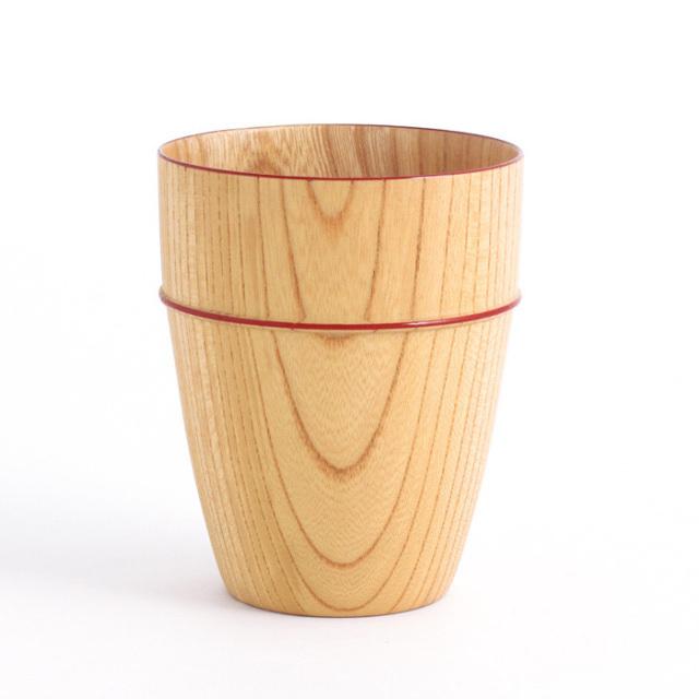 MOKUカップ 朱ライン