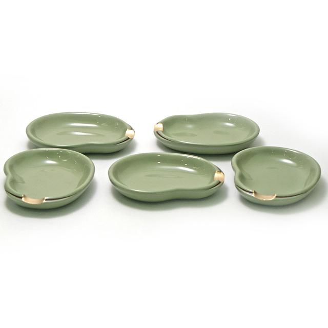 箸置き小皿 そら豆 5枚セット